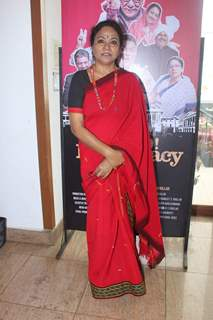 Seema Biswas poses for the media at the Trailer Launch of Jai Ho Democracy