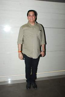 Lalit Pandit poses for the media at the Launch of Harry's Bar & Cafe