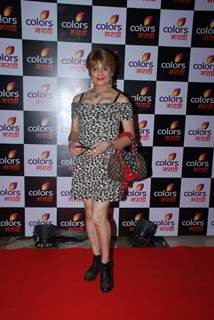 Bobby Darling poses for the media at the Launch of Colors Marathi