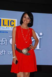 Mahima Makwana poses for the media at the Launch of Dil Ki Baatein