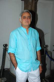 Hansal Mehta at the Success Bash for Haider's National Award