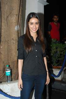 Shraddha Kapoor at the Success Bash for Haider's National Award