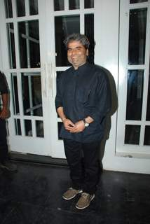 Vishal Bharadwaj was at the Success Bash for Haider's National Award