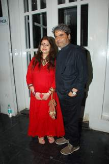 Vishal and Rekha Bharadwaj was at the Success Bash for Haider's National Award