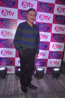 Anang Desai poses for the media at the Launch of Dilli Wali Thakur Gurls