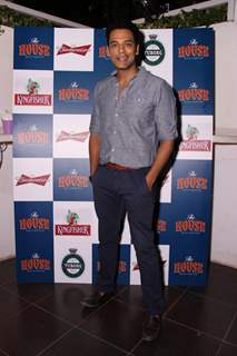 Samir Kochhar poses for the media at the Launch of The House Restaurant