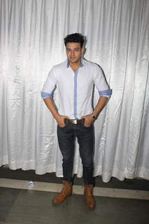 Aniruddh Dave poses for the media  at Milan Singh Concert