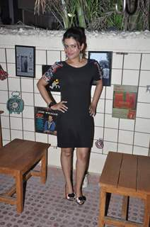 Shilpa Raizada poses for the media at the Launch Party of Dilli Wali Thakur Gurls