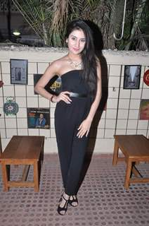 Monica Sharma poses for the media at the Launch Party of Dilli Wali Thakur Gurls