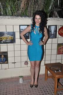 Sukirti Kandpal poses for the media at the Launch Party of Dilli Wali Thakur Gurls