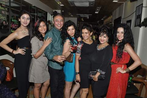 Team poses for the media at the Launch Party of Dilli Wali Thakur Gurls