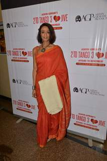 Achint Kaur was seen at the 50th Show of Ashvin Gidwani's Play 'Two To Tango Three To Jive'