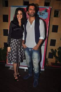 Sanaya with Baraun for main aur mr right promotion