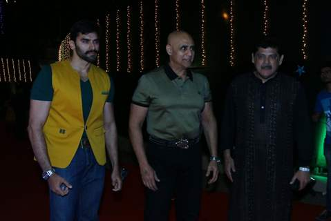 Nikitin Dheer, Pankaj Dheer and Puneet Issar attends Baisakhi Celebration at Khalsa College