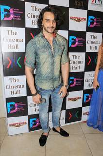 Angad Hasija poses for the media at the Launch of the Movie The Cinema Hall