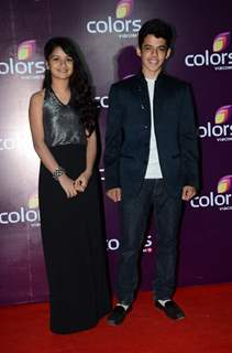 Darsheel Safary and Avneet Kaur at Color's Party