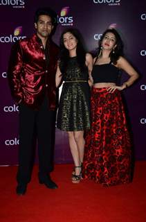 Kinshuk Mahajan and Neha Bagga at Color's Party