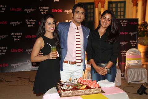 Kirtida, Narayani Shastri and Gaurav S Bajaj at Launch of New Show Piya Rangrezz by Life Ok