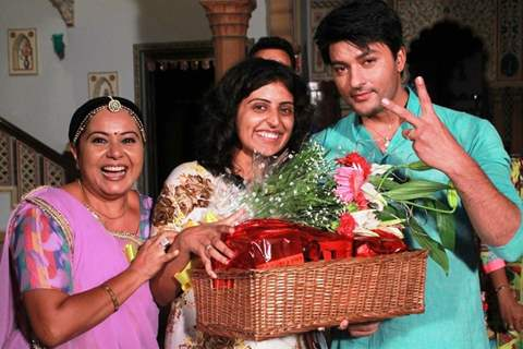 Anas Rashid and Neelu Vaghela