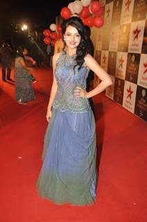 Shrenu Parikh at Star Parivaar Awards 2015