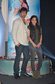 Nishant Mlakani and Sneha Ullal at Bezubaan Ishq Launch