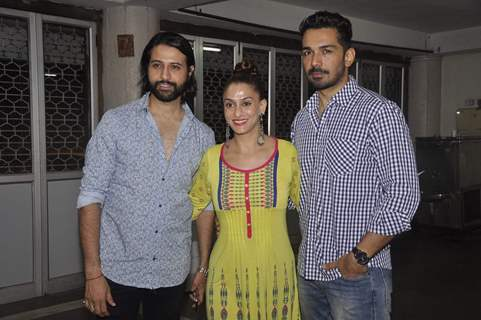 Apurva Agnihotri, Shilpa Sakhlani and Abhinav Shukla at Munisha Khatwani's Debut Play