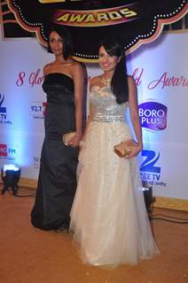 Achint Kaur and Amrin Chakkiwala at Gold Awards