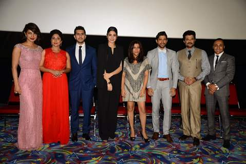 Team of Dil Dhadakne Do at IIFA 2015 Press Meet