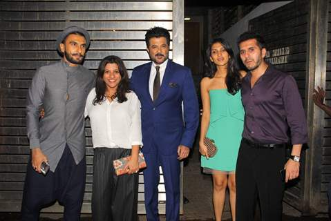DDD Team Party at Zoya Akhtar's House.