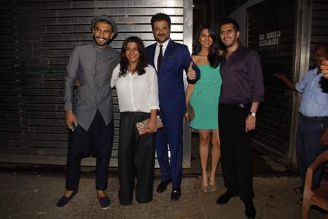 Party People of DDD at Zoya Akhtar's House