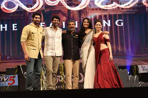 Bahubali Team at Music Launch!