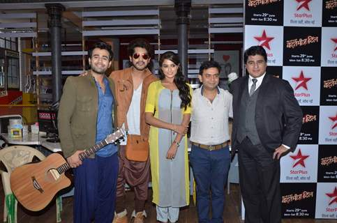 Pearl V Puri, Asmita Sood, Suyash Rai and Ayub Khan at the Launch of Star Plus 'Badtameez Dil'