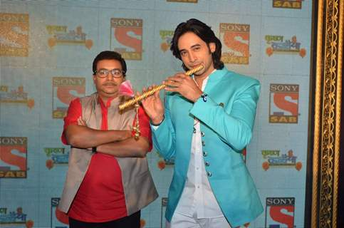 Siddharth Arora and Nikhil Ratnaparkhi at Launch of SAB TV Show 'Krishan Kanhaiya'
