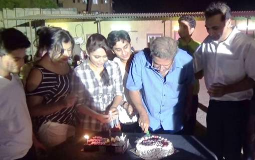 Cake Cutting at Farewell to Team 'Mooh Boli Shaadi'