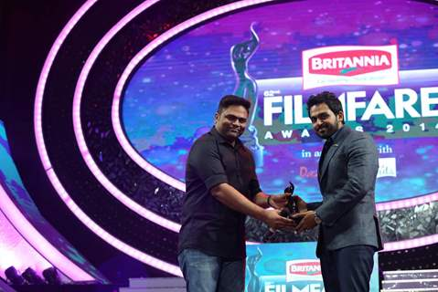 Karthi at the 62nd South Filmfare Awards