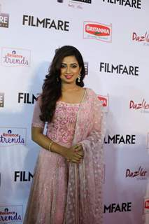 Shreya Ghoshal at the 62nd South Filmfare Awards