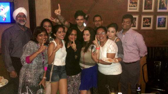 Diya Aur Baati Hum Team's Dinner Meet!