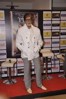 Amitabh Bachchan poses for the media at the DVD Launch of Piku