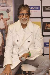 Amitabh Bachchan was snapped at the DVD Launch of Piku