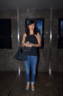 Gauri Pradhan Tejwani poses for the media at the Special Screening of Amy