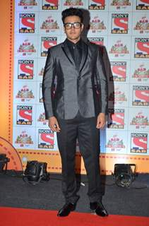 Aniruddh Dave at SAB Ke Anokhe Awards