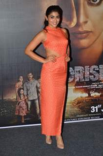 Shreya Saran at the Press Conference of Drishyam