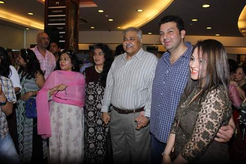 Satish Shah at Book Launch of Shadab Mehboob Khan's 'Murder in Bollywood'