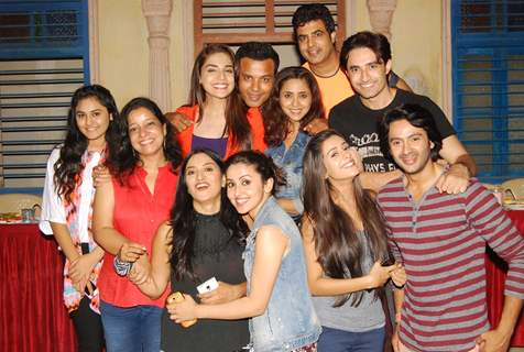 Tere Sheher Mein Cast at Rajan Shahi's Iftaar Party