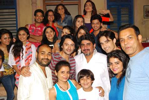 Rajan Shahi with Tere Sheher Mein Cast at Iftaar Party