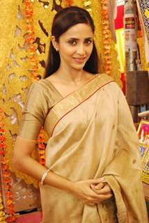 Gautami Kapoor on the Sets of Tere Sheher Mein