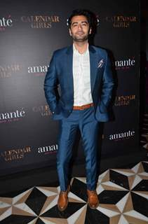 Harshad Arora at Madhur's Calendar Girls Launch With Amante Show