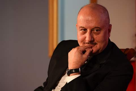Anupam Kher at Launch of The Anupam Kher Show Kucch Bhi Ho Sakta Hai
