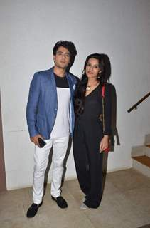 Gaurav S Bajaj With His Wife at Celebration of Suyash Rai's Sister's Birthday at Star Struck