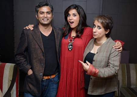 Cast of Masaan for Screening